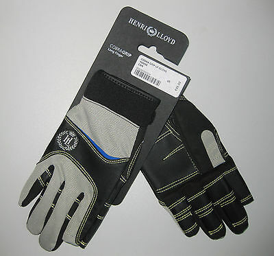 Segel-Handschuhe Henri Lloyd Cobra Grip Gr. S Long Finger oder Short Finger