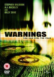 Warnings Dvd Stephen Baldwin Brand New & Factory Sealed