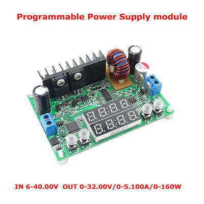 DC 32V 5A Programmable  Constant Voltage Current Regulated Power Supply Module