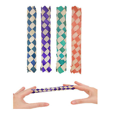 1-50 Chinese Finger Traps Kids Cheap Party Goody Bag Filler Wedding Loot Toy