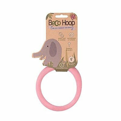 Beco Hoop Pink, Small, Dog Toy, Premium Service, Fast Dispatch