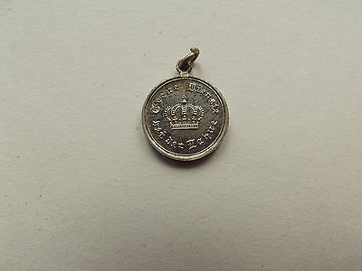 Ww1 Imperial German Prussian Military 9 Year Service Miniature Medal