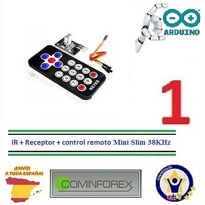 Kit Modulo Control Remoto +infrarrojo+IR Infrared IR Wireless Remote Arduino i05