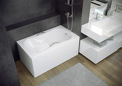 High Quality Acrylic Bath With Seat 120 X 70 Space Saver, Boats, Lofts