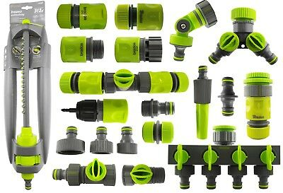 shock resistant hose fittings/connectors,garden watering,hozelock compatible!
