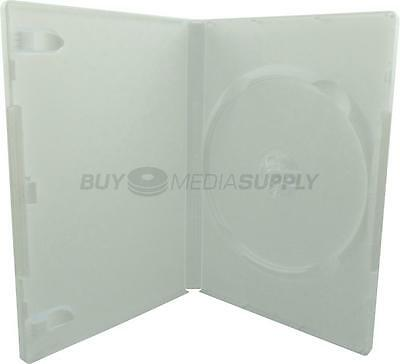 14mm Standard White 1 Disc DVD Case - 50 Pack