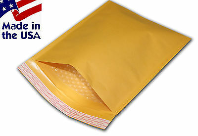 "250 #0 6X10 Kraft Bubble Mailers Padded Envelopes Bags 6""x10"""