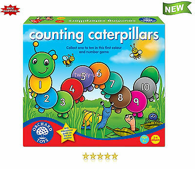 Best Orchard Toys Counting Caterpillars Kids Observation Memory Numbers NEW