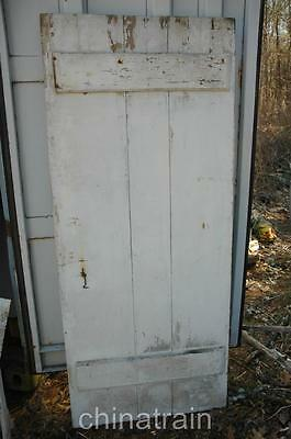 Antique Vintage Horizontal Brace Door 76 x 32 3/8 x 0.75