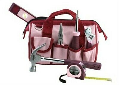 7PC Pink Tool Kit,No 6709,  Great Neck Saw & Mfg