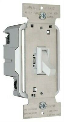 Pass & Seymour #T603WV 600W White 3WY Toggle Dimmer,No T603WV
