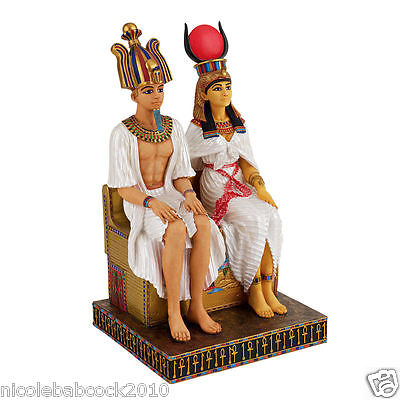 Ancient Egyptian Rulers In Life And In Death Royal Statue • CAD $107.04