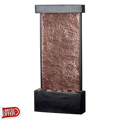 SALE Kenroy Home Falling Water Lighted Table/Wall Fountain Fountains