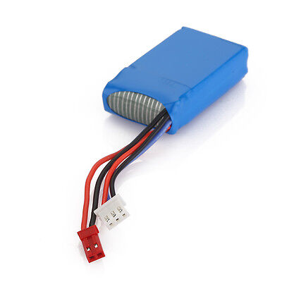 850mAh 7.4V 20C 2S Lipo Battery JST Plug for RC Quadcopter Drone X6