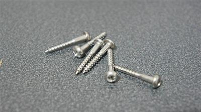 Stainless Steel Strat Tremolo Screws. Improve Your Tone