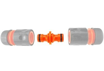 Double male hose connectors (PACK OF 2) garden watering,hozelock compatible