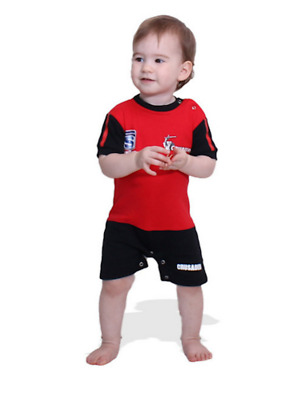 Crusaders Super Rugby Union Footysuit All-in-one Shorts 0