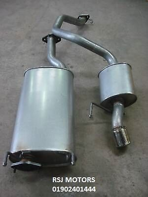 Ssangyong Actyon Rexton 2.9D EXHAUST CENTRE SILENCER + REAR BOX WITH GASKETS