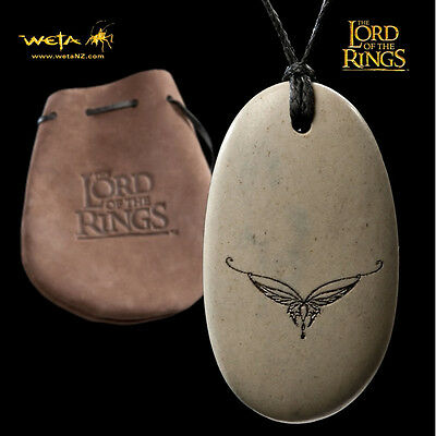 WETA Lord of the Rings Arwen's Crown Stone Pendant Necklace SEALED NEW