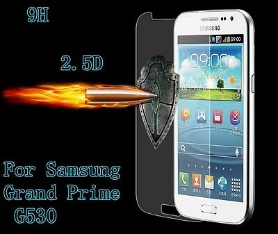 2 x Genuine Tempered Glass 9H Screen Protector For Samsung Galaxy Grand Prime