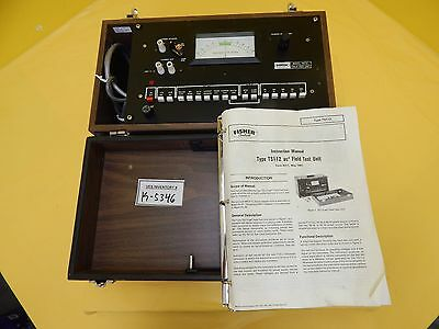 Fisher Controls TS112 ac2 Field Test Unit Used Tested Working
