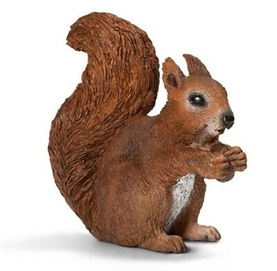 BRN Eating Squirrel,No 14684,  Schleich North America