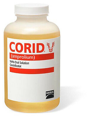 Merial Corid 9.6% Oral Solution for Cattle - 16 oz.