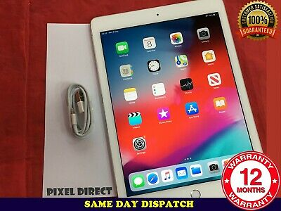 Apple iPad Air 2 16GB Wi-Fi 9.7in Silver+Touch ID Retina Display iOS 13 Ref 269