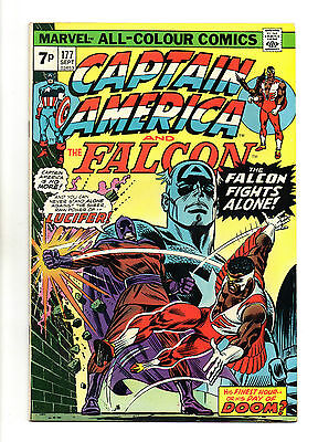 Captain America Vol 1 No 177 Sep 1974 (VFN+) Bronze Age (1970 - 1979)