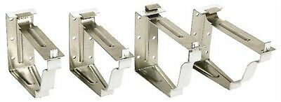 Aluminum Snap-Lok Gutter Bracket,No 25024,  Amerimax Home Products