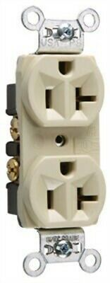 20A IVY HD DPLX Outlet,No CRB5362ICC12,  Pass & Seymour