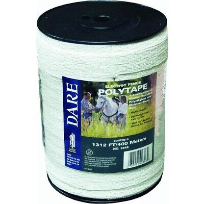 Electric Fence Poly Tape,No 2346,  Dare Products Inc