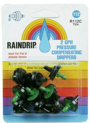 On-Line Drippers,No R112CT,  Raindrip Inc