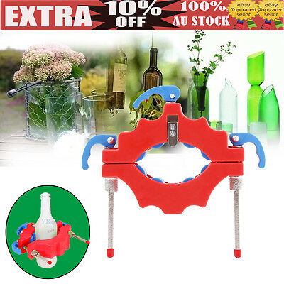 Glass Wine Beer Bottle Cutter Tool Recycle Craft Cutting Kit Jar Machine NEW