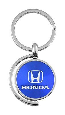 Honda Blue Spinner Fob Key Chain KC1025 Hon Blu by Automative Gold
