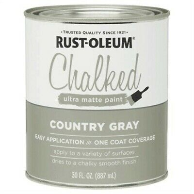 30OZ GRY Chalked Paint,No 285141,  Rust-Oleum