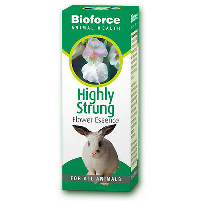 Bioforce Highly Strung Flower Essence For Animal To Help With Calmness 30ml