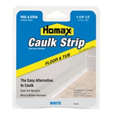 "Myro/ Magic American #30 1-1/4""x5'WHT Caulkstrip,No 34030"