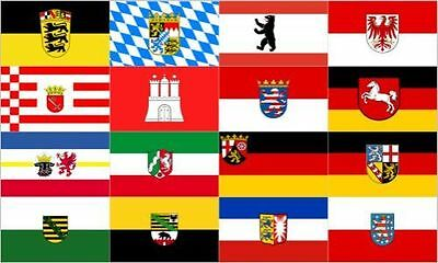 Germany 16 Federal States Flag 5'x3' German Germany State