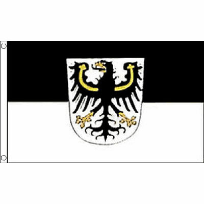 Ostpreussen Flag 5'x3' German Germany State