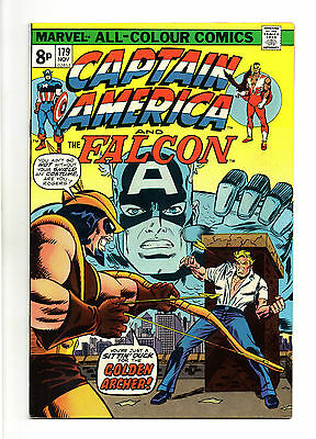 Captain America Vol 1 No 179 Nov 1974 (VFN+) Bronze Age (1970 - 1979)