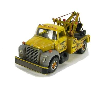 "N Scale 60's ""I"" Class Loadstar Wrecker truck kit by Showcase Miniatures (88)"