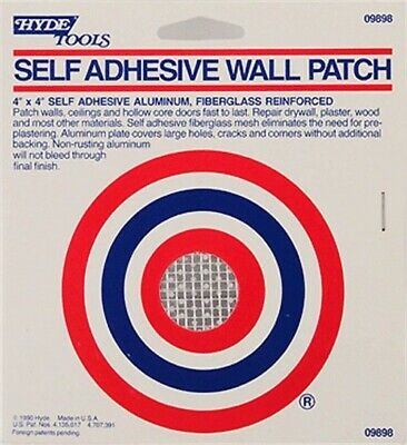 Hyde Tools #09898 4x4 Aluminum Drywall Patch,No 9898,  Hyde Tools