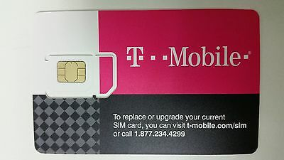 First Month $75+$15 T-Mobile One Plan Preloaded Prepaid SIM Card