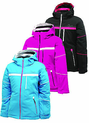 Dare2b Icicle Girls Waterproof Breathable Ared VO2 10000 Ski Jacket