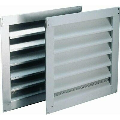 Aluminum Wall End Louver,No 81237,  Air Vent Inc.