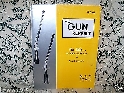 GUN REPORT 5/1964~RIFLE BIRTH & GROWTH~FEDERAL CASE Pt 2~OLD LUGER MODELS~INDEX
