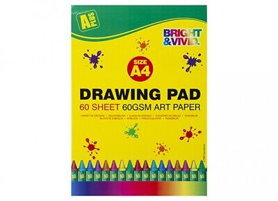 3 Pack Of A4 A5 & A6 Artist Sketch Drawing Book Pad Books Pads 20 Sheets Per Pad