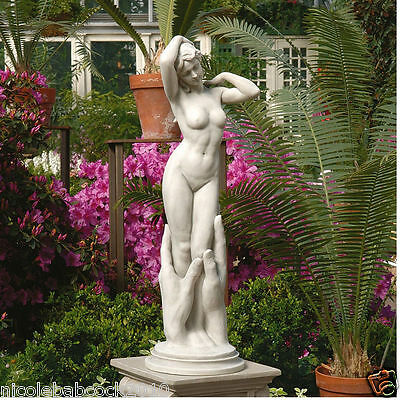 Nude Mythical Goddess Of Love Venus Sculpture Naked Female Maiden