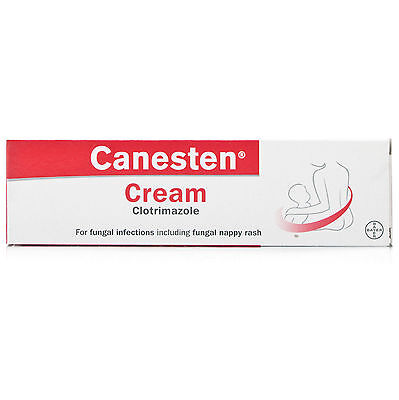 Canesten Antifungal Cream Clotrimazole 1% - 50g -Thrush/Nappy Rash/Athletes Foot